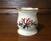 Lenox Winter Greetings 3 1 2 quot Vase, Trinket Dish or Votive Holder