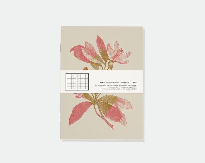 Featured listing image: Undated Monthly Planner - Limited Edition