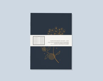 Undated Monthly Planner - Limited Edition