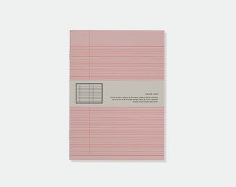 Ruled Notebook printed with vegetable ink RISO