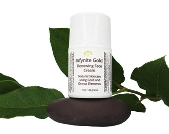 Infynite Gold Face Cream, made with ormus and scalar energy imprints