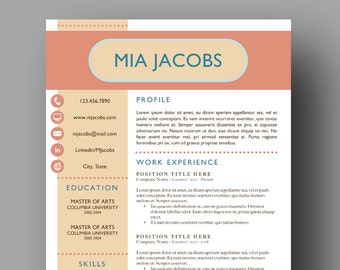 Stand out resume | Etsy