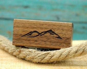 Engagement Ring Box Wedding Ring Box Tomorrow /& Forever Laser Engraved Magnetic Wooden Ring Box Removable Lid Today