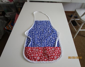 Child's reversible holiday aprons
