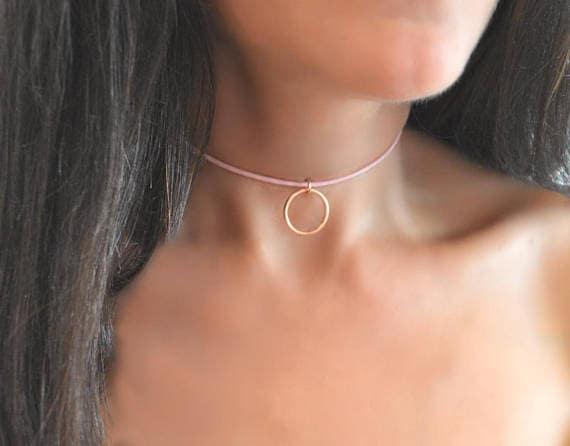 Sterling Silver Collar Necklace BDSM Collar BDSM Day Collar Submissive Day Collar Slave Collar Discreet Day Collar Collar for Women