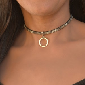 Discreet Day Collar Sterling Silver Collar Necklace BDSM Day Collar Slave Day Collar Submissive Submissive Collar BDSM Co Jewelryllar