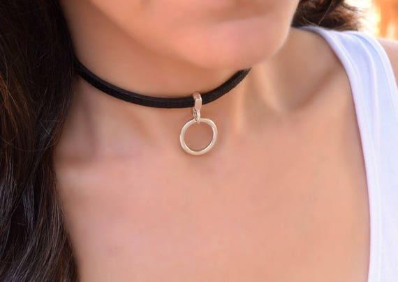 Women in slave collars