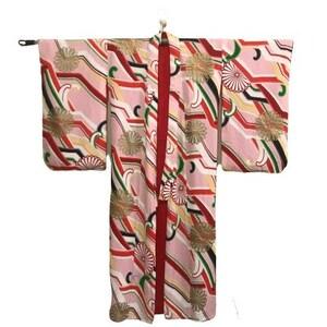 Japanese Kimono Medium Tribal Motif Perfect Condition by Antiquesandvaria NEW Free Shipping