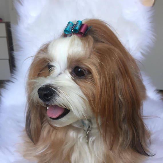 Dog Hair Bows  Hair Bows Fall Hair Bows