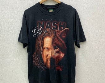 87d33d6f Vintage 90s Kevin Nash Wolfpac nWo New World Order T-shirts