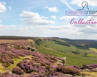 Stanage Edge in Late Summer