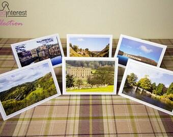 Peak District Landmarks Greeting Cards