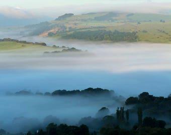 Morning Mist at Curbar