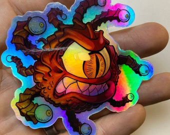 Beholder - Holographic Vinyl Sticker