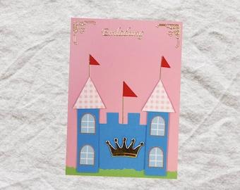 """Einladungskarte """"Prinzessin-Schloss"""""""