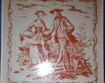 Vintage Pilkington Porcelain Tile