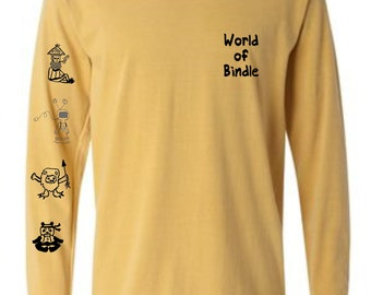 World Of Bindle Long Sleeve (Yellow)
