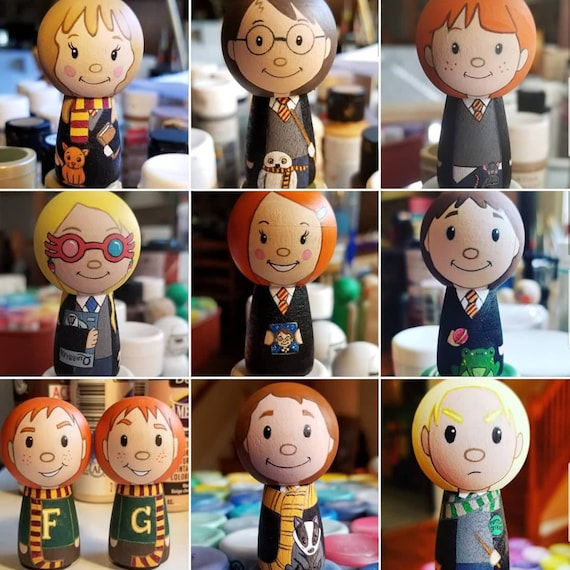 Harry Potter Characters Birthday Gifts Cake Topper Wizards