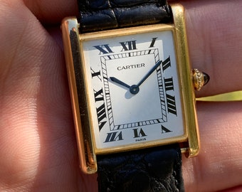 cfb892f5a344 Tank Louis CARTIER  Extra-Plate  -- Vintage  70s -- Ultra-thin model -  Piaget cal. 21 movement