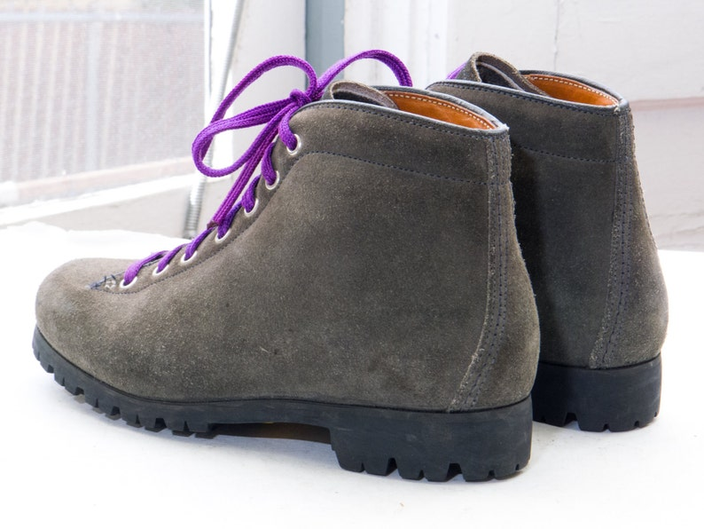 4ba5bf0646b Wmns PIVETTA Trail Hiking Boot, sz 5 - 5.5 -- Made in ITALY --> Grey Suede