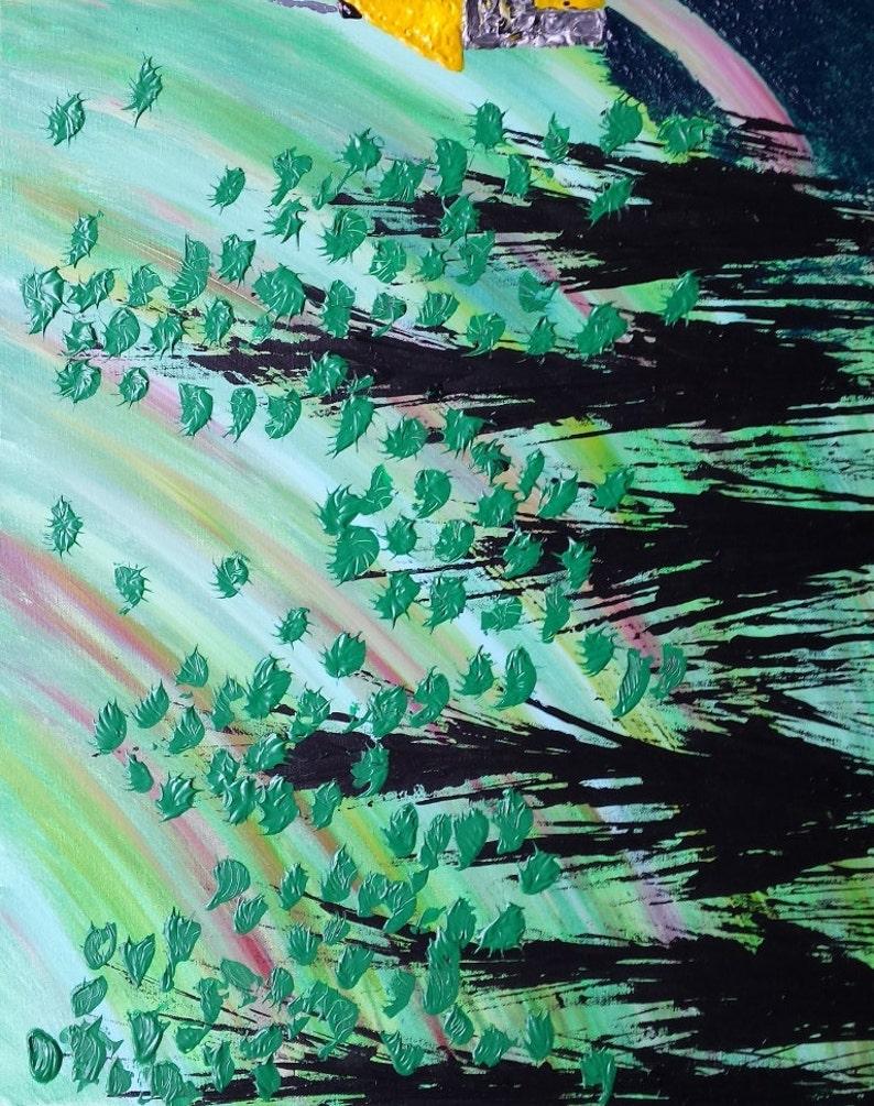 Large painting painting on canvas acrylic painting original image 0