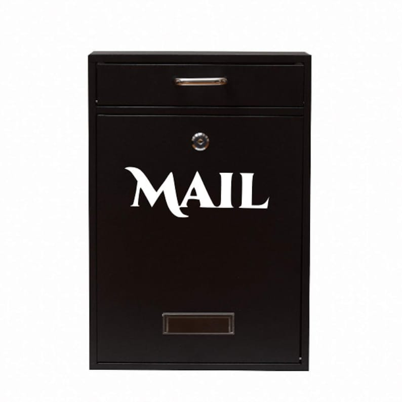 Mailbox Decal Mail Vinyl Decal Mail Post Box Decal Mail Organization,Mail Label Address Decal Mail Box Sticker,Mail Decal