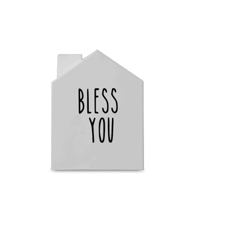Bless You Vinyl Decal Sticker