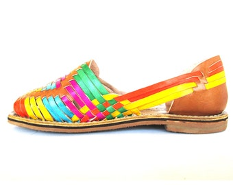 Mexican Huaraches Cross weave leather 2ccbf0c76