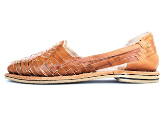 04d72f883cb66 Mexican Huaraches Cross weave leather