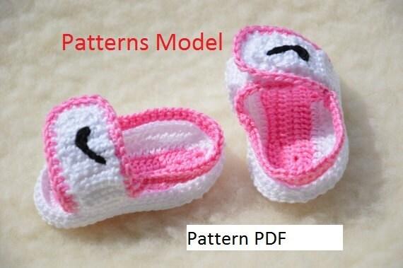 CROCHET PATTERN Sandalen Crochet Baby Booties Muster | Etsy