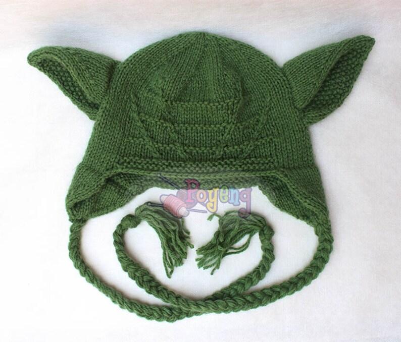 KNITTING PATTERN Wrinkle Yoda Baby Hat PDF   Etsy