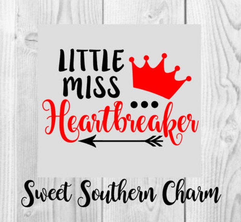 Little Miss Herzensbrecher Svg Herzensbrecher Svg Herz Svg Etsy