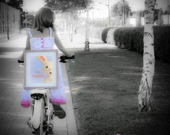 HUMBLE rabbit; peekaboo; digital download; wall decor; baby prints; naif; gicleé; clay; kids; childrens; nursery; plastic arts; toys; funny