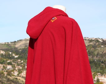Red Riding Hood Wolf Poncho