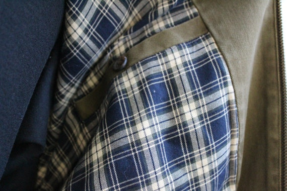 Polo Ralph Lauren Green Cotton Windbreaker (Vinta… - image 8