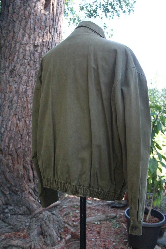 Polo Ralph Lauren Green Cotton Windbreaker (Vinta… - image 6
