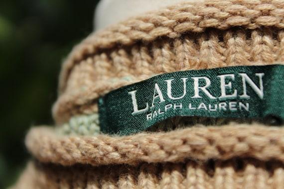Ralph Lauren Brown Multi Color Print Pullover Swe… - image 7