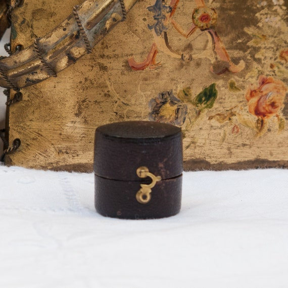 Engagement ring box, Wedding ring box, Antique rin