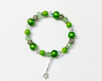 Tinker Bell Stretch Bracelet