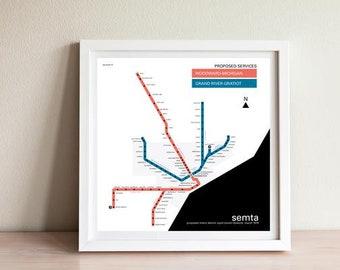 M1 rail map detroit | Etsy M Rail Map on illinois state rail map, usa rail map, texas rail map, detroit light rail map, new jersey rail map, china rail map, dallas rail map, nj rail map, funding m 1 rail map, woodward light rail map, france rail map, spain rail map,