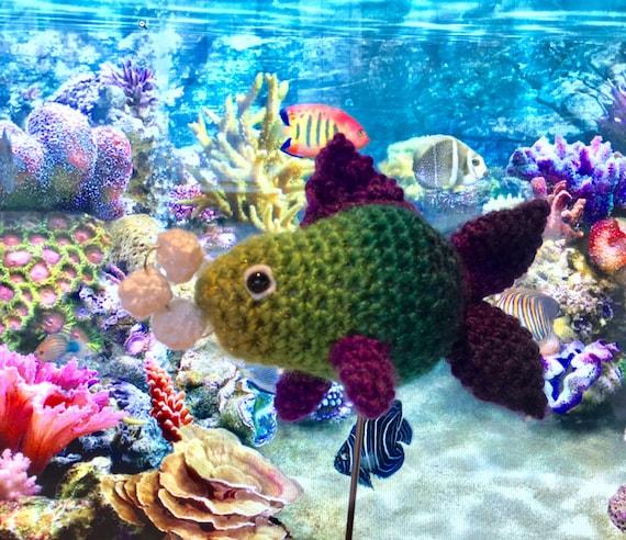 Crochet Goldfish Amigurumi Free Patterns | Häkeln amigurumi tier ... | 492x570