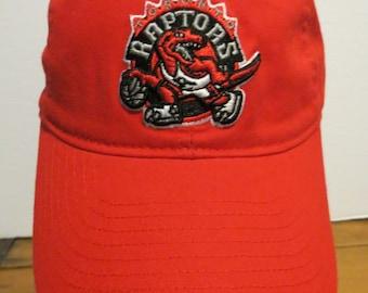 b23fecc1ecf Toronto Raptors Cap Hat Red Strapback Adidas NBA Basketball