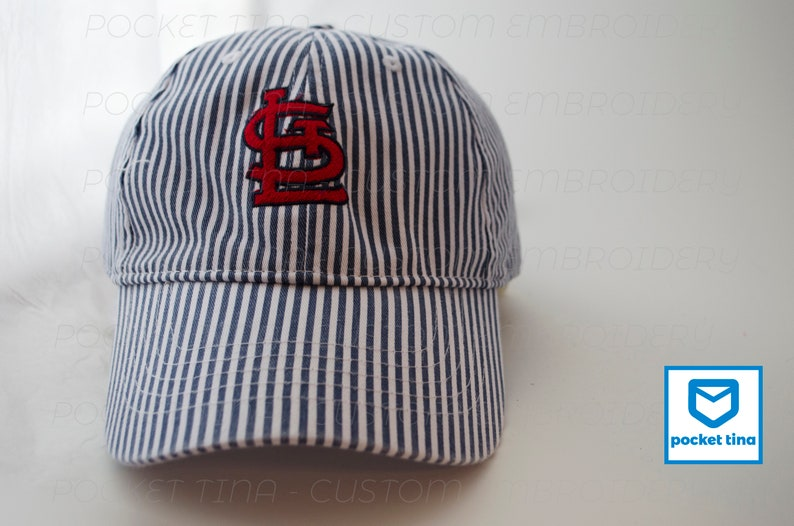 1498758168a6e Cardinals Baseball Hat Embroidered St. Louis