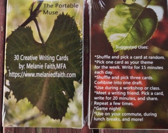 The Portable Muse: 30 Creative Writing Inspiration Cards