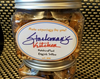 Handcrafted English Toffee