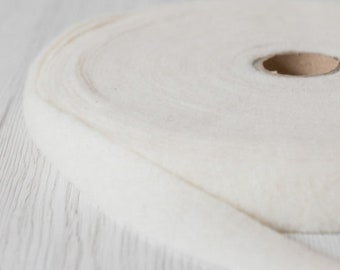 Extra fine merino wool prefelt ribbon   DyeingHouseGallery DHG  Color Evening