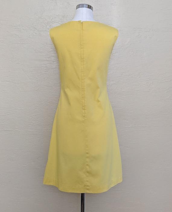 60s Cotton Shift Dress - 60s Dress - Novelty Summ… - image 3