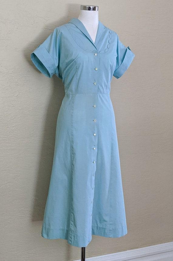 1950s Dress - 50s Dress - Volup Dress - Vintage S… - image 2