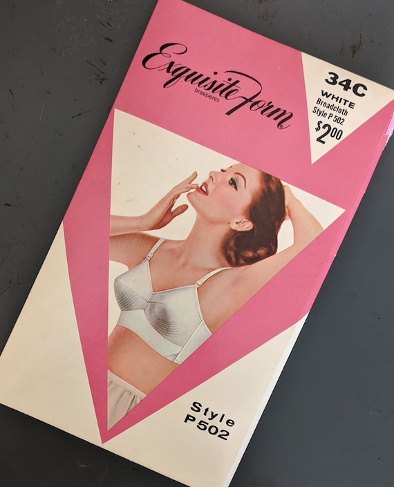 In Fine Form! 1960s Deadstock Cotton Bullet Bra -