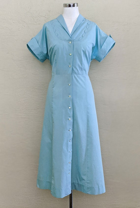 1950s Dress - 50s Dress - Volup Dress - Vintage Sh